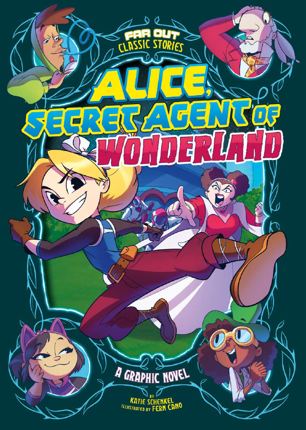 alice secret agent of wonderland